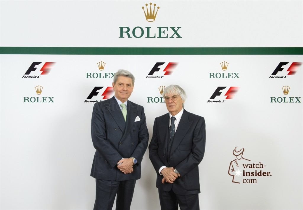 Some interesting details about the new Rolex global partnership with Formula 1