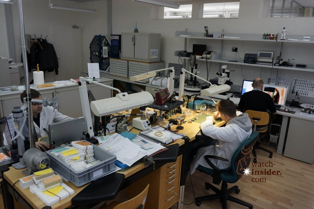 … The R & D department and its workshop …