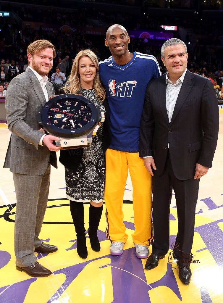 Hublot Named Official Timekeeper Of The Los Angeles Lakers