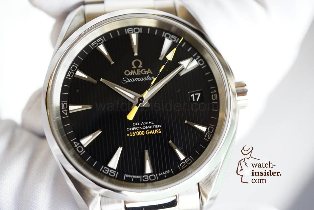 Exclusive from Geneva: The Omega Seamaster Aqua Terra total antimagnetic watch