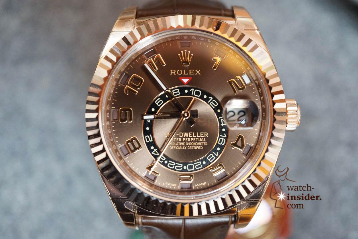 6066b6563 Testing the new Rolex Oyster Perpetual Sky-Dweller – Watch-Insider.com