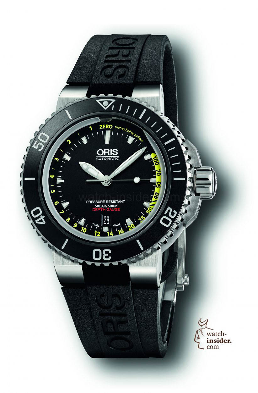 Baselworld 2013: Oris' master diver in new look