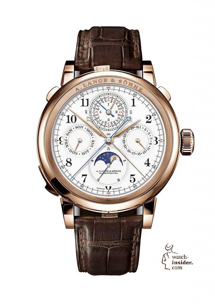 A masterpiece of fine watchmaking: GRAND COMPLICATION