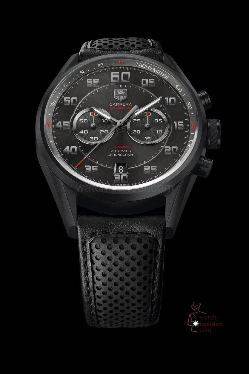 9d18063f876 The new TAG Heuer Carrera Calibre 36 Chronograph Flyback. Fitted with an El  Primero movement ...