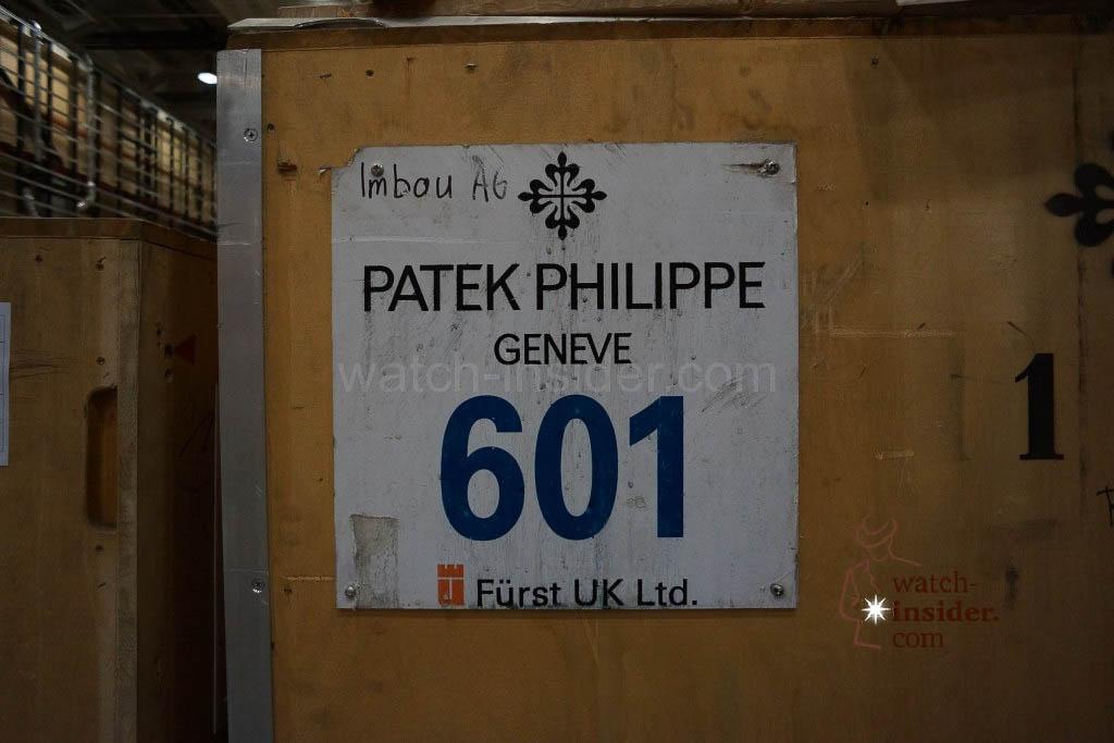 A case belonging to Patek Philippe