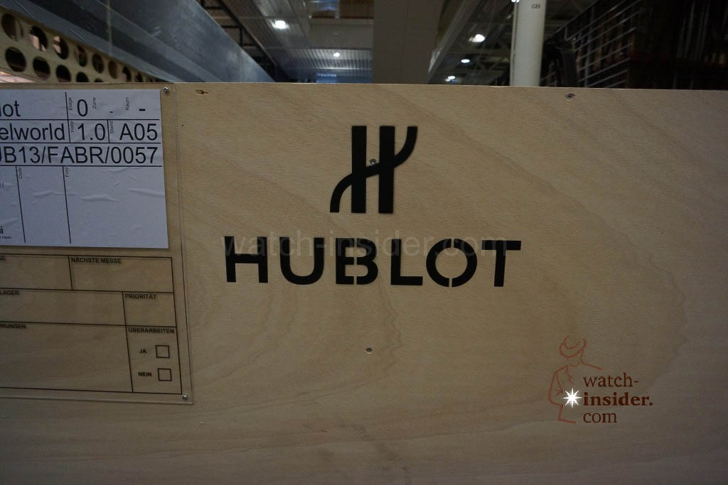 A case belonging to Hublot