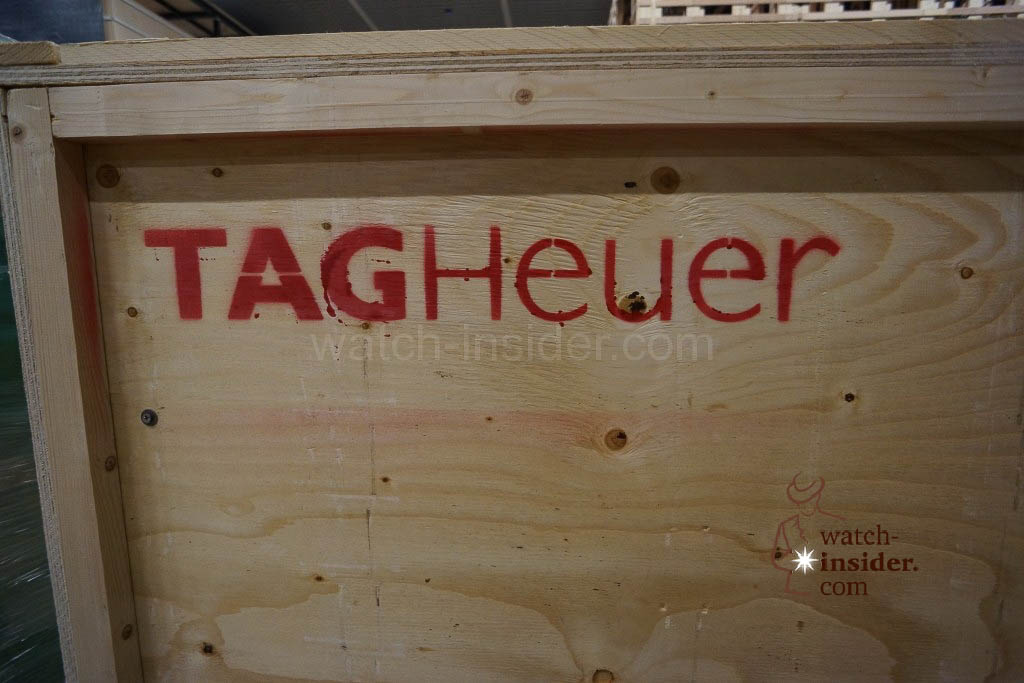 A case belonging to TAG Heuer