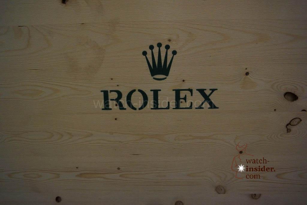 A case belonging to Rolex