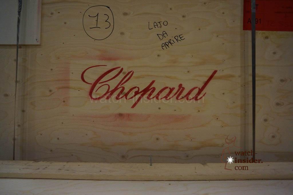 A case belonging to Chopard