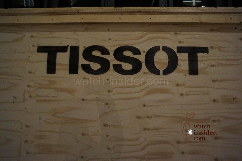 A case belonging to Tissot