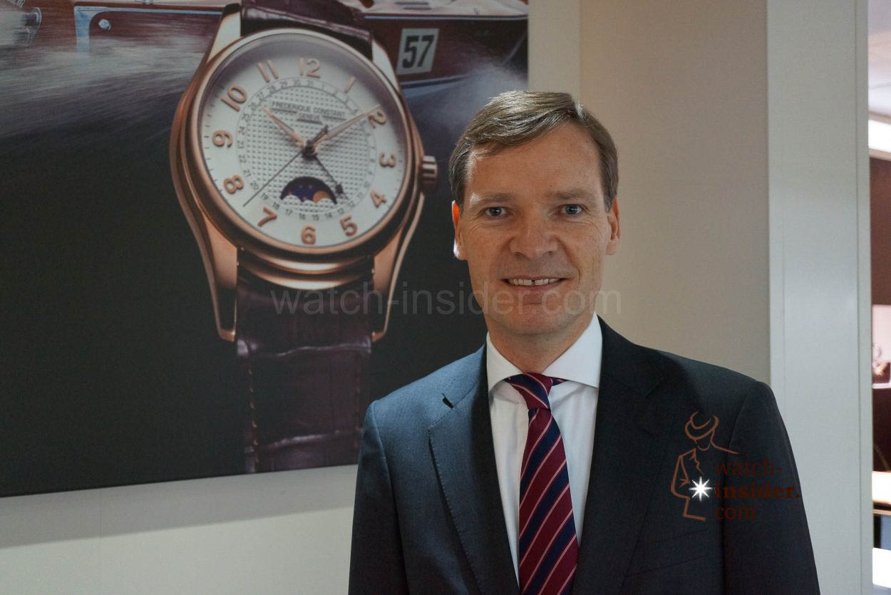Baselworld Interview With Peter Stas CEO Frédérique - Alpina blazer