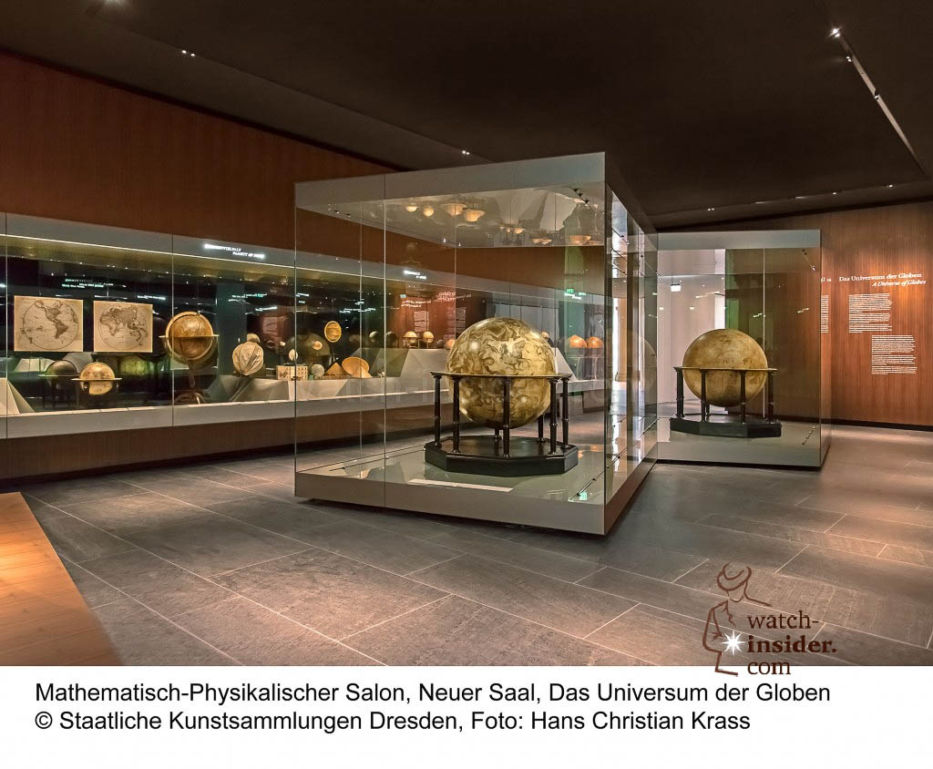 the collection of globes Foto: Hans Christian Krass