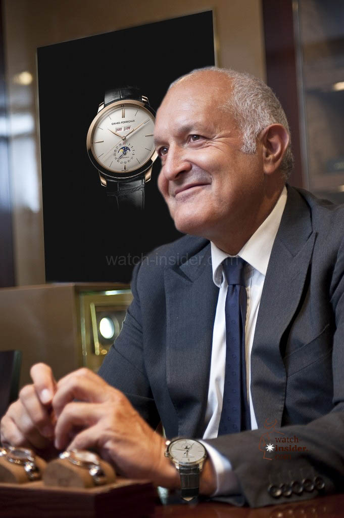 Michele Sofisti, CEO Girard-Perregaux and Sowind Group