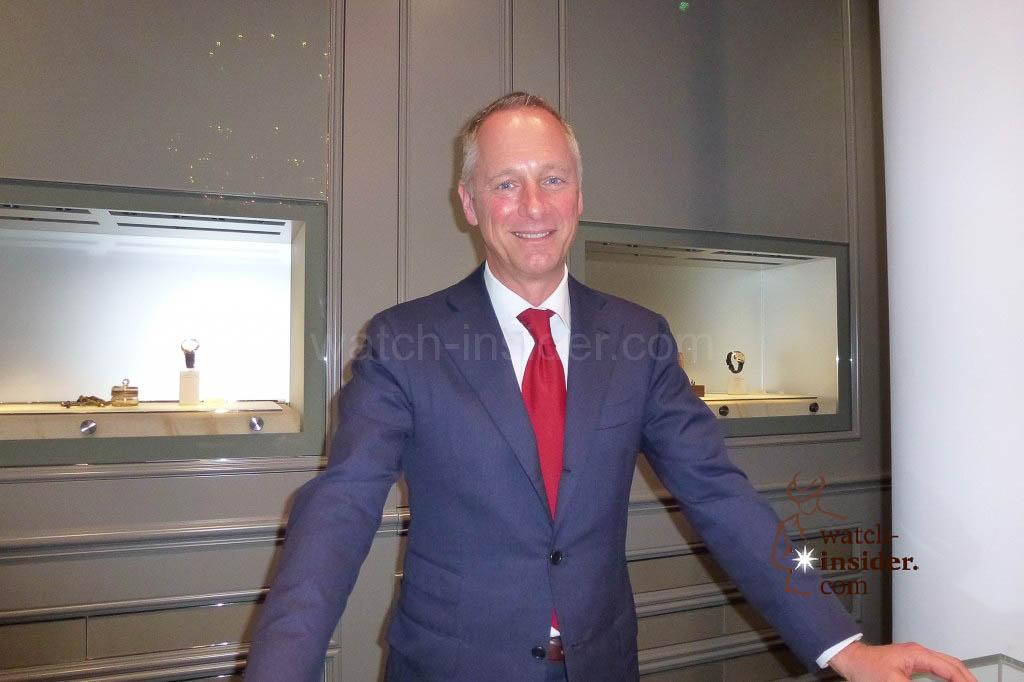 Wilhelm Schmid, CEO of A. Lange & Söhne