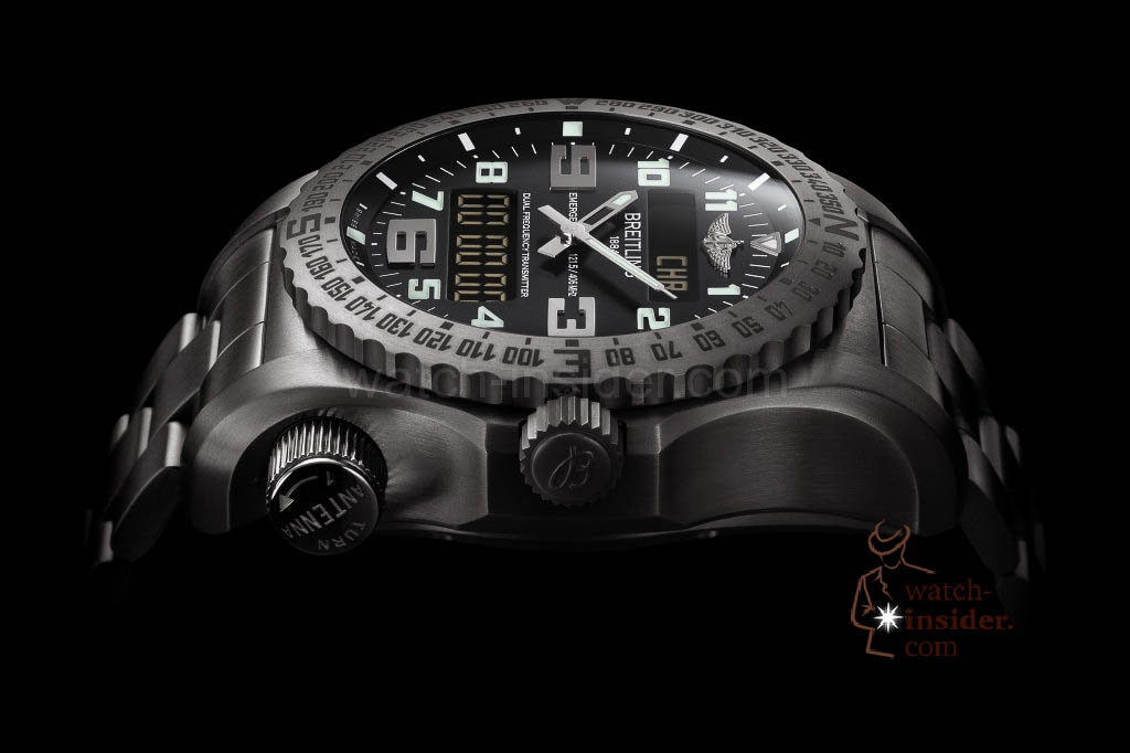 The new Breitling Emergency II presented at Baselworld 2013