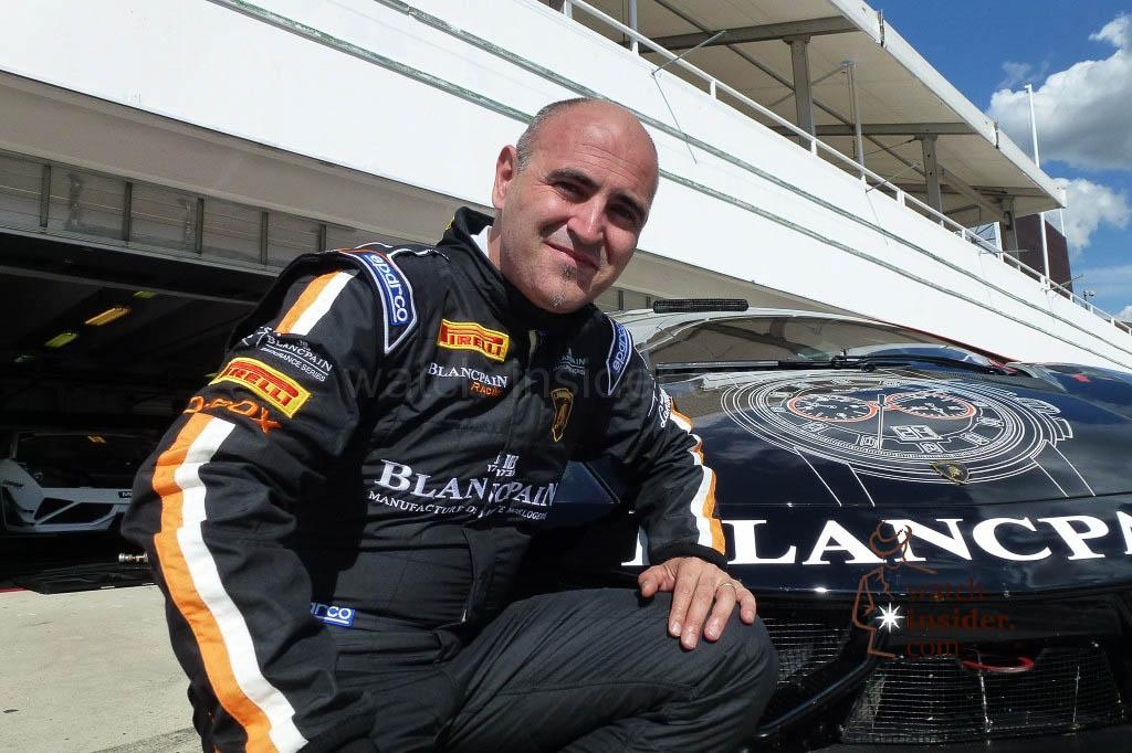 Blancpain CEO Mark Hayek