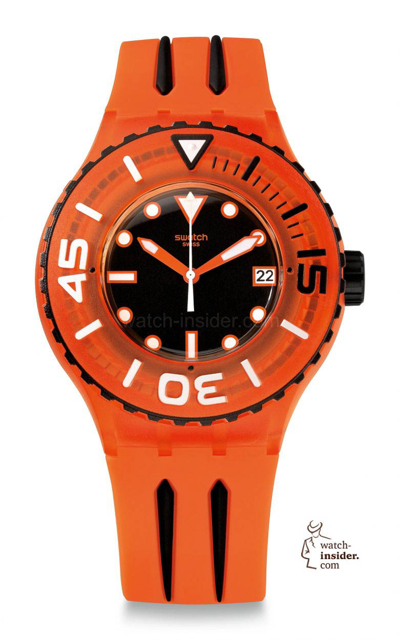 Very Attractive And Not Expensive At All The New Swatch Scuba