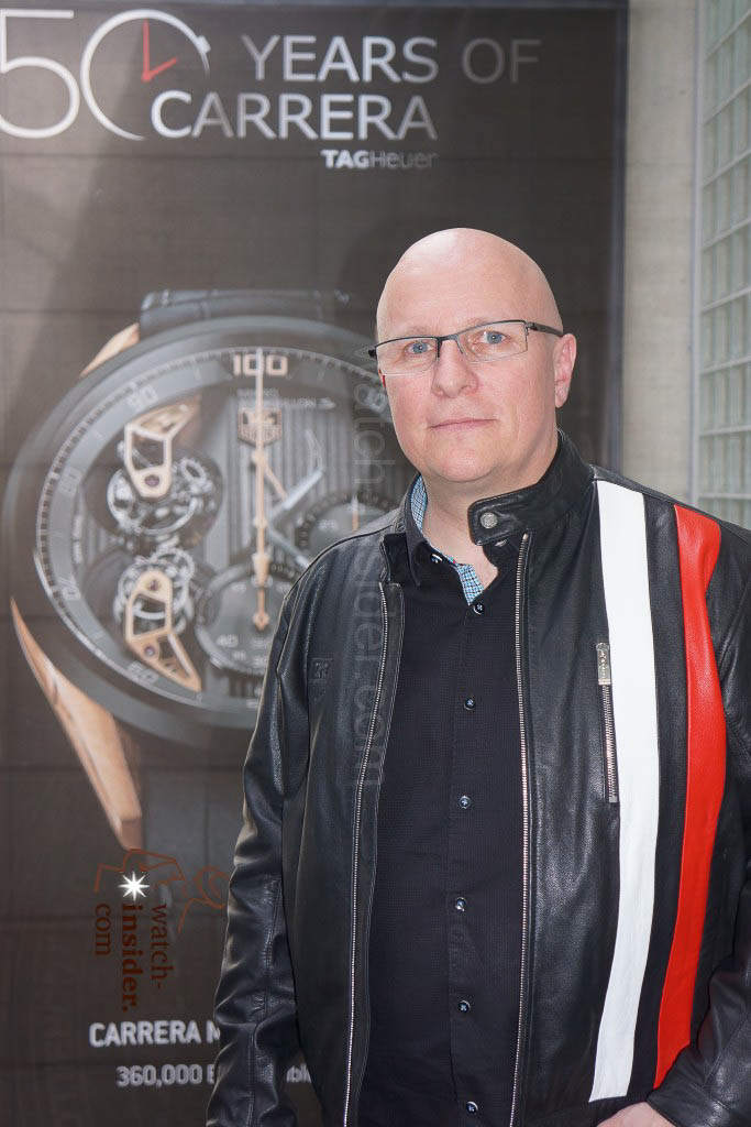 The new TAG Heuer CEO Stéphane Linder