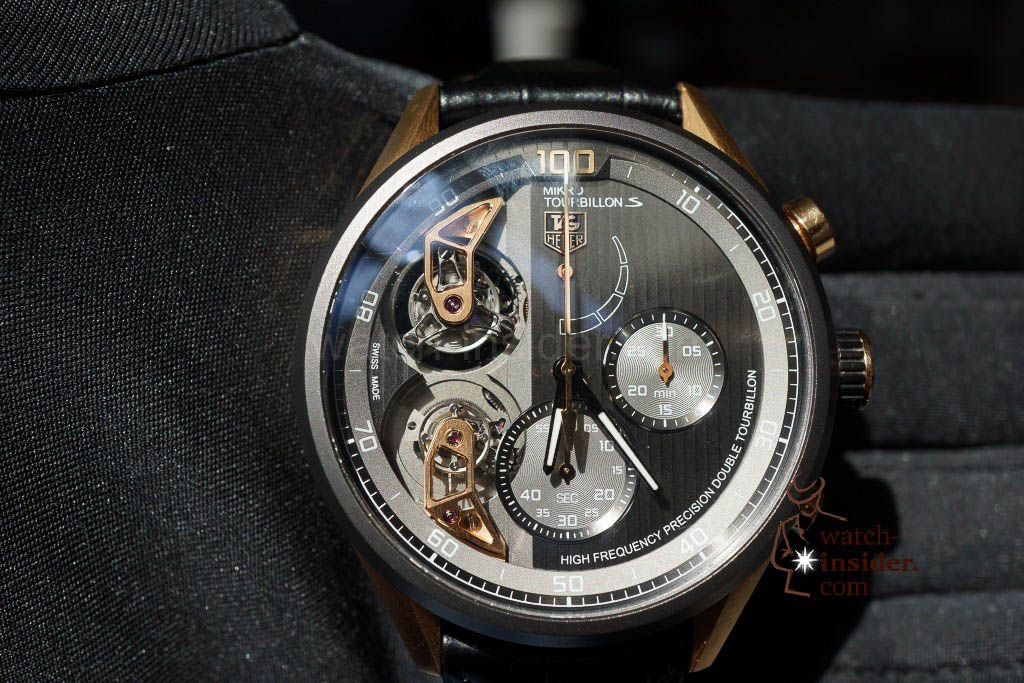 Discover the TAG Heuer Carrera MikrotourbillonS evidenced by 13 photos and a High Definition video