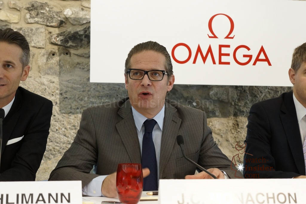Jean-Claude Monachon, Vice President Omega & Head of Product Development