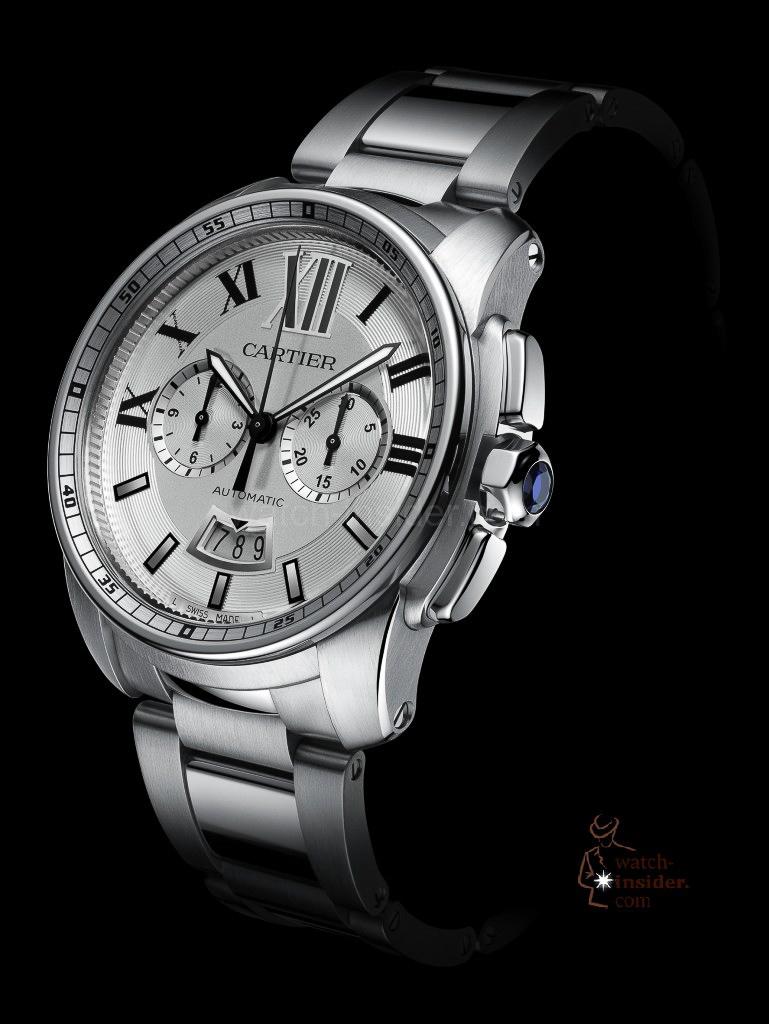 Cartier Montre Calibre de Cartier chronographe, Mouvement 1904-CH MC
