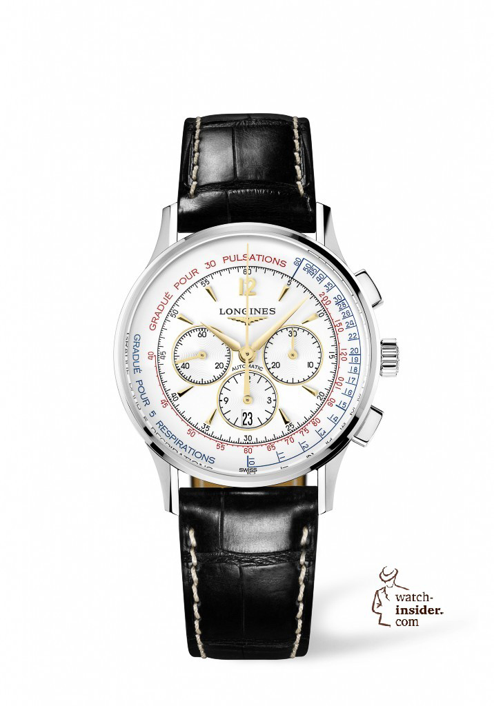 The Longines Asthmometer-Pulsometer Chronograph