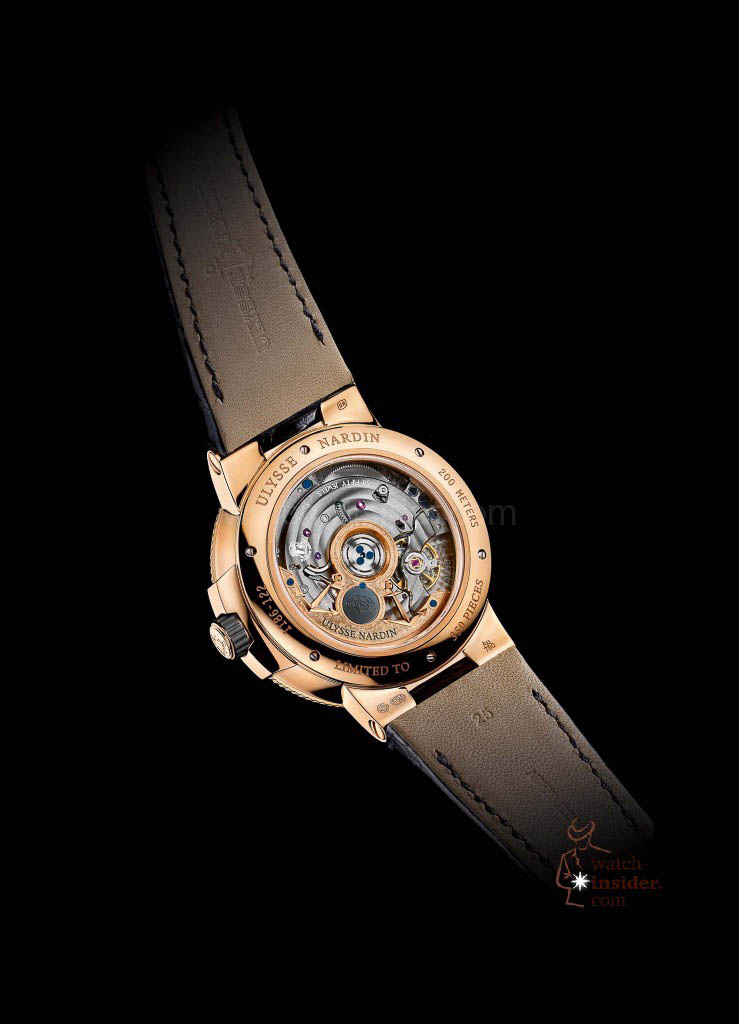 Ulysse Nardin Marine Chronometer Manufacture Caliber 118