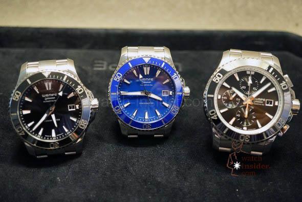 WEMPE Zeitmeister Men´s Automatic Diver´s Watch + WEMPE Zeitmeister Men´s Diver´s Chronograph