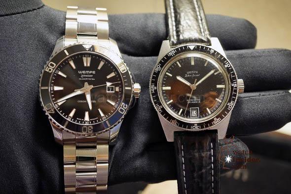 WEMPE Zeitmeister Men´s Automatic Diver´s Watch + WEMPE Skin Diver Vintage