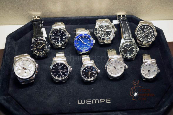 WEMPE All new sports watches + Vintage sports watches