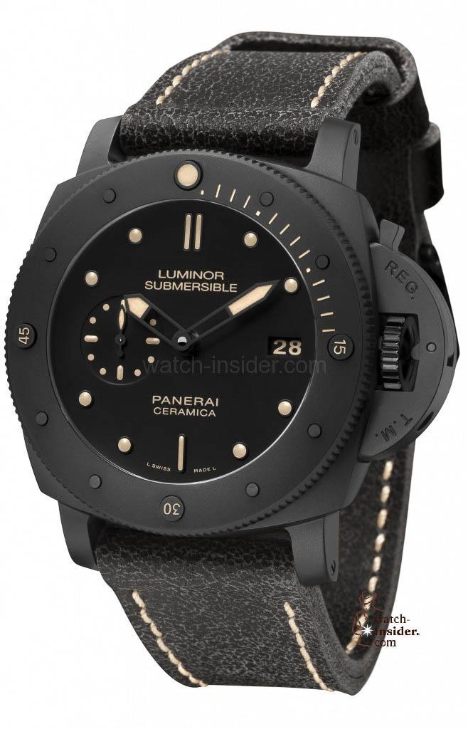 """Panerai """"Luminor Submersible 1950 3 Days Automatic Ceramica"""""""