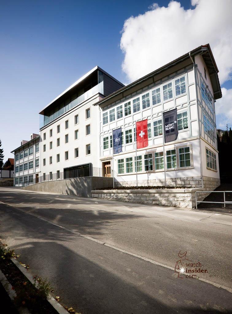 Montblanc-Minerva manufacture Villeret