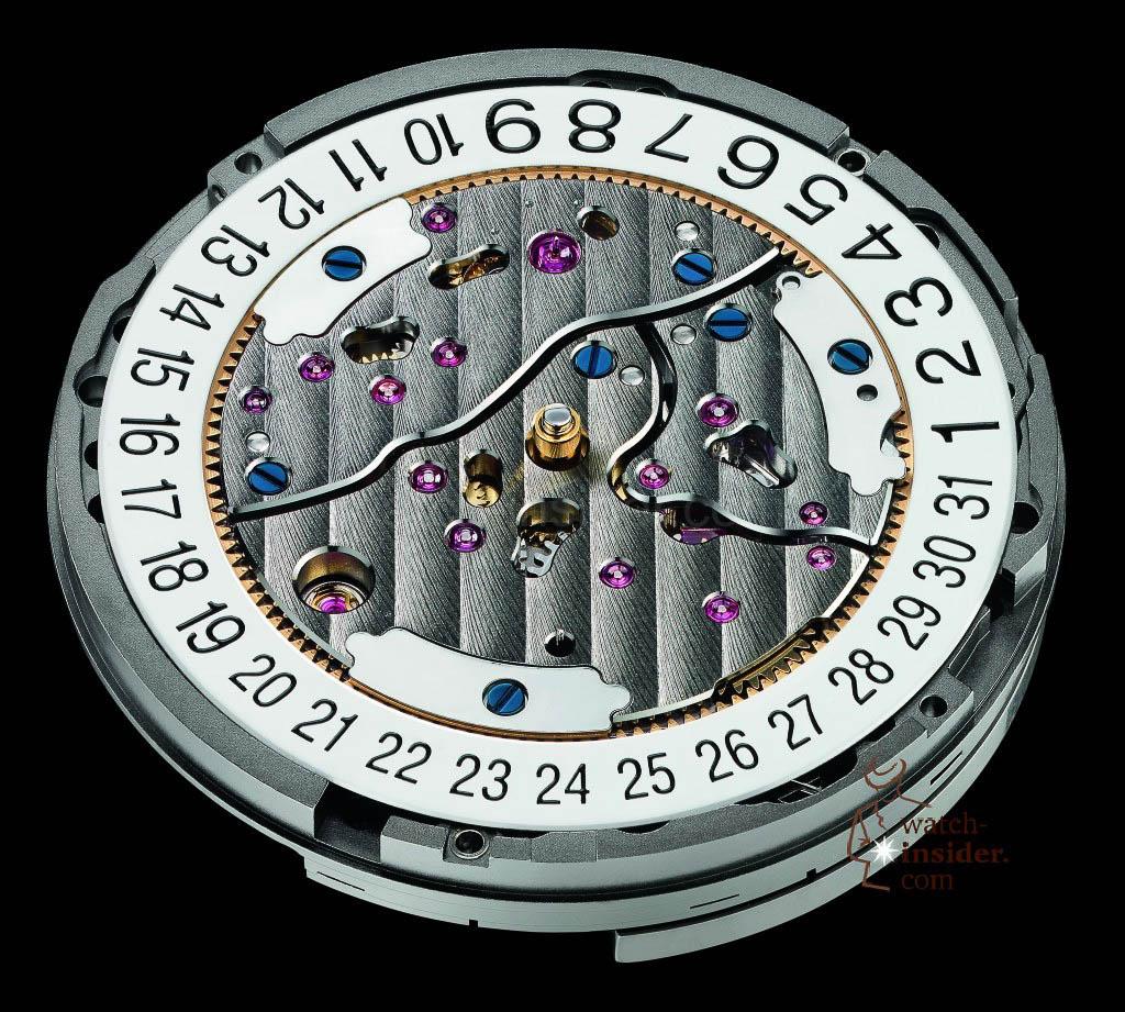 Ulysse Nardin-Caliber 118 dial side