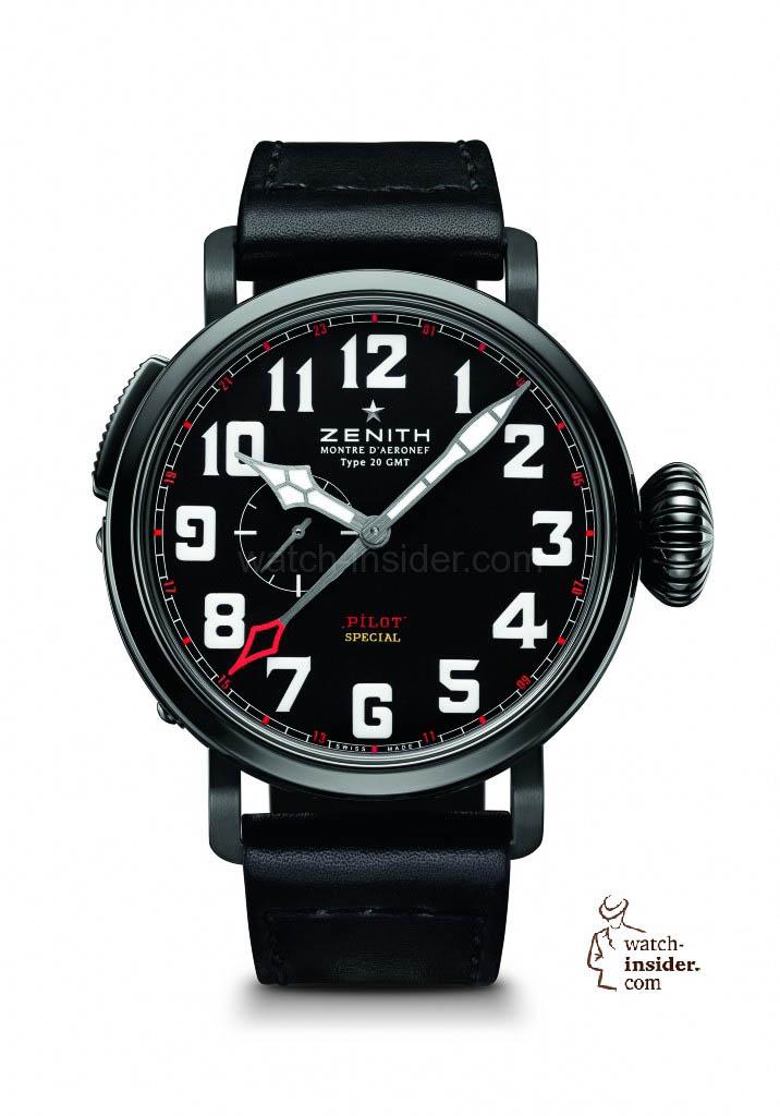 """Zenith """"Montre d´Aeronef Type 20 GMT Baron Rouge"""""""