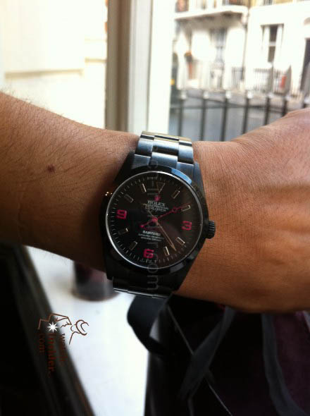 This is Patrick´s wife Rolex Explorer 1