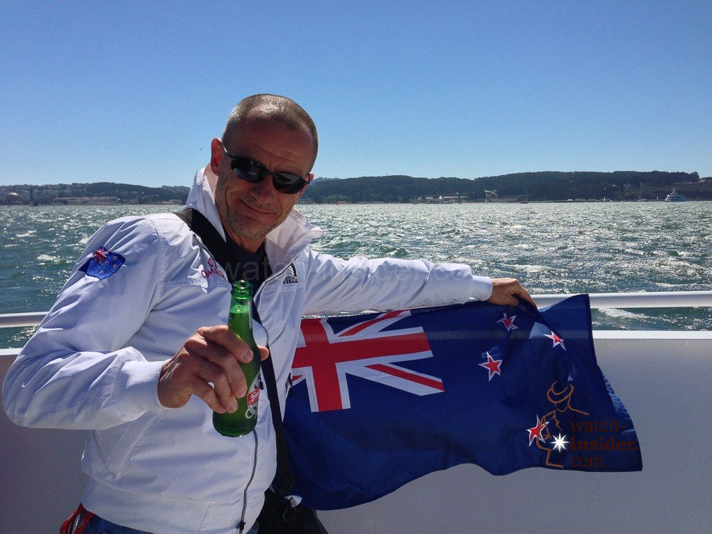A toast to Leon and all you Kiwis reading my blog (Updated with a short ETNZ-video)