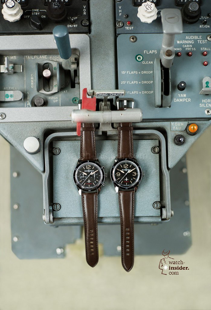 The Bell & Ross BR123 and 126 in the Falcon cockpit