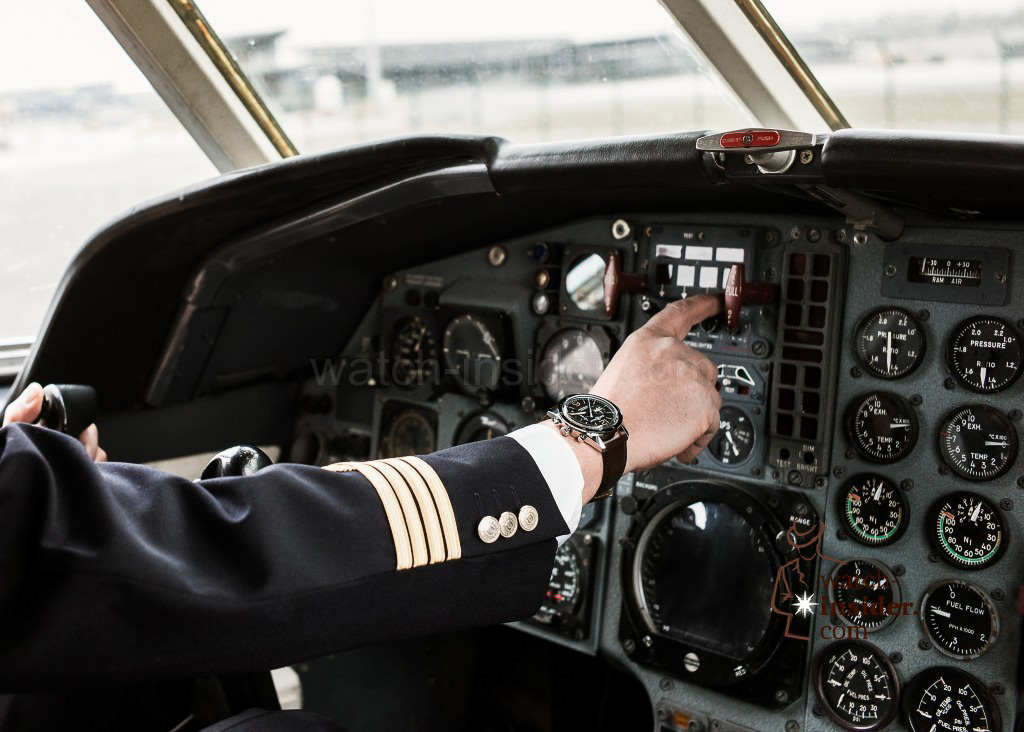 The Bell & Ross BR126 in the Falcon cockpit