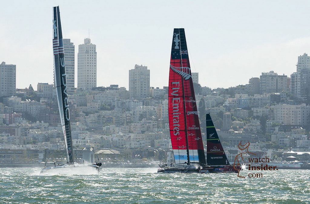 America´s Cup action today
