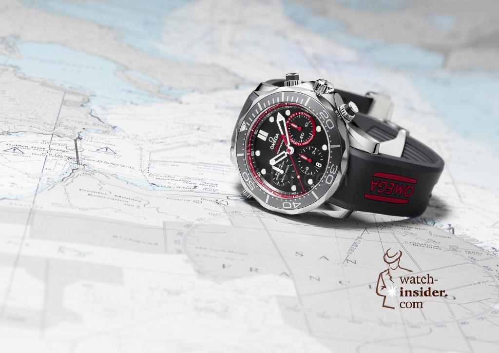 Omega Seamaster ETNZ Co-Axial Chrono