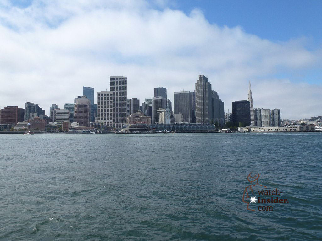 The San Francisco sky-line seen from our spectator boat