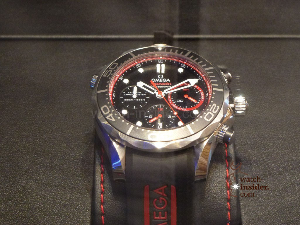 Of course the Omega Seamaster Diver ETNZ Limited Edition is on display there