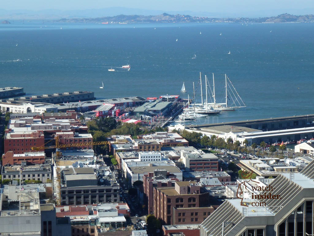 The America´s Cup Park at Pier 27 in San Francisco
