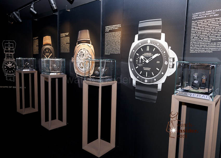 Panerai presentation at the rooftop restaurant of the five-star Hotel