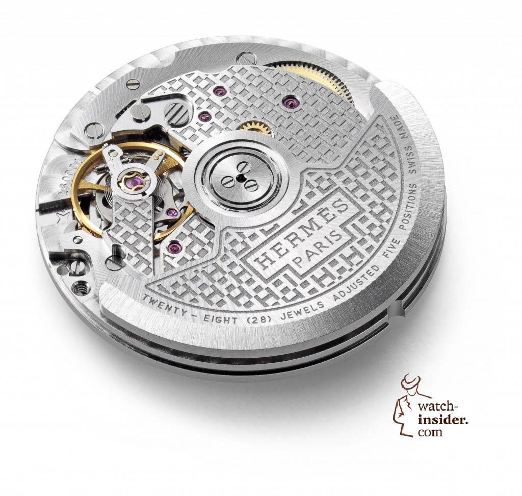 La Montre Hermès Calibre H1837