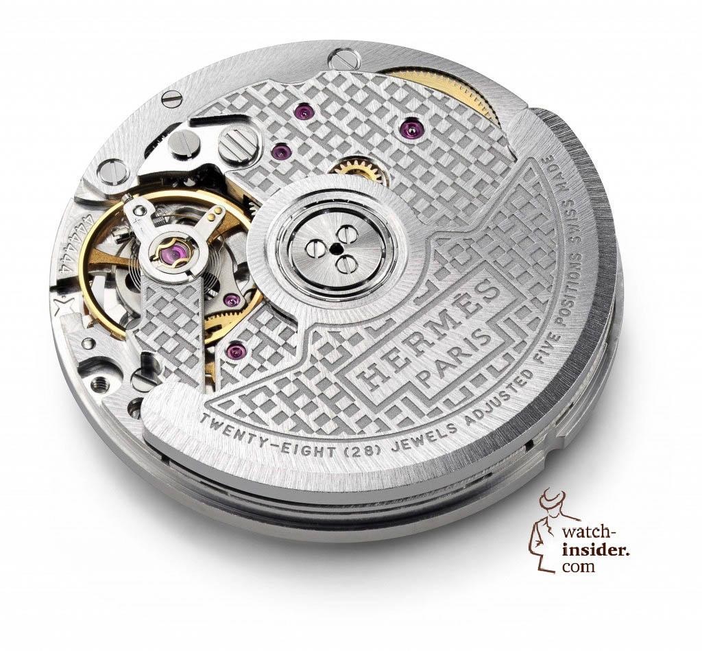 La Montre Hermès Calibre H1912