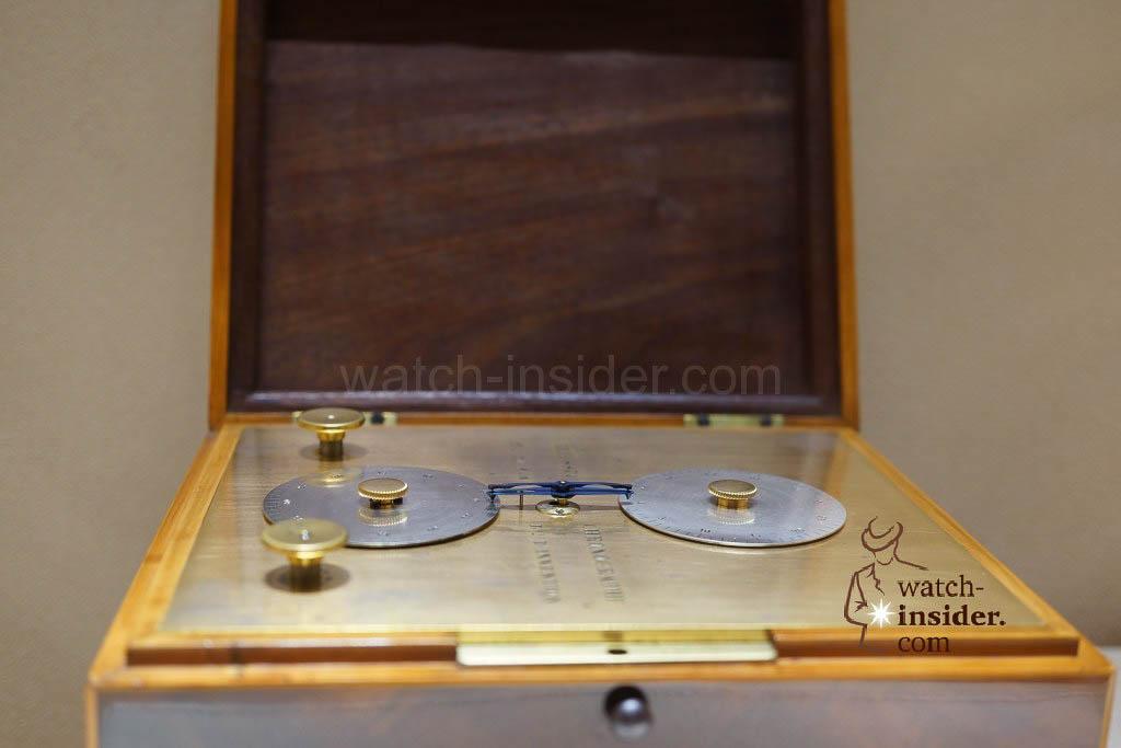 Nicolas Mathieu Rieussec Seconds Chronograph (1821/1822) belonging to the Patek Philippe Museum in Geneva.