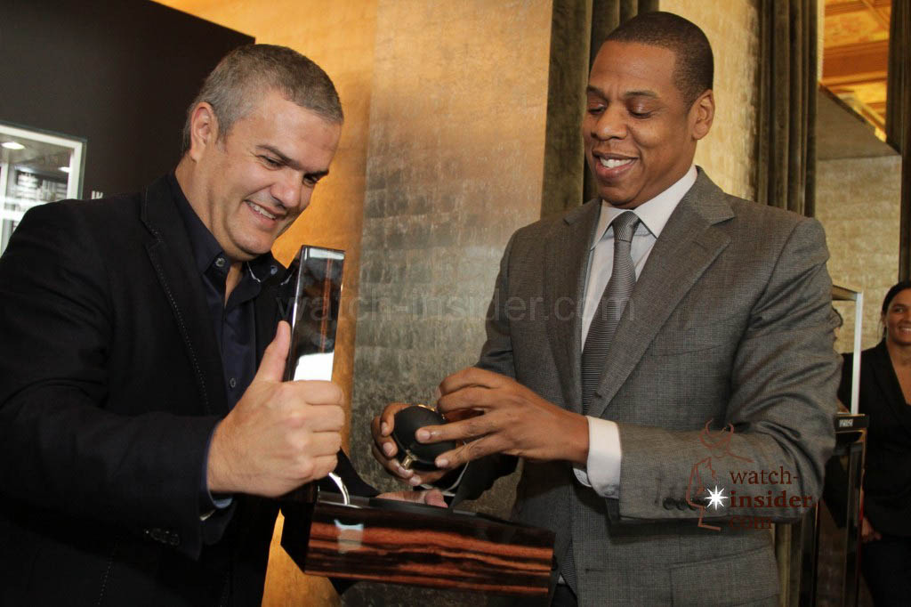 Ricardo Guadalupe, CEO of Hublot  and Shawn JAY Z Carter