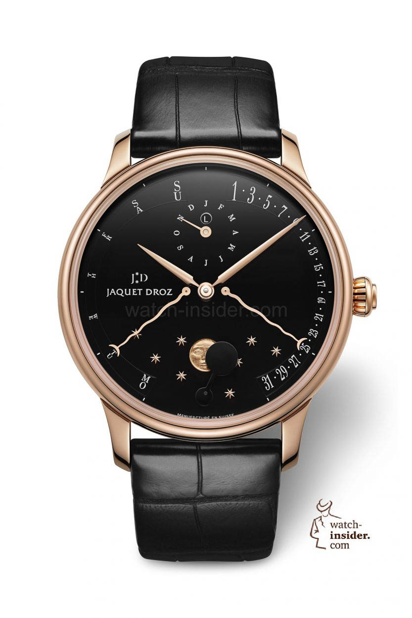 Perpetual Calendar Watch : The perpetual calendar Éclipse by jaquet droz watch