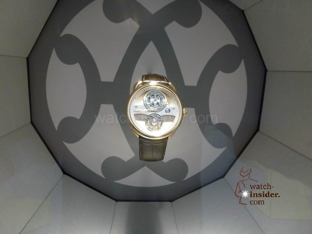 La Montre Hermès timepieces at the Hermès Boutique at 24, Rue du Faubourg Saint-Honoré in Paris